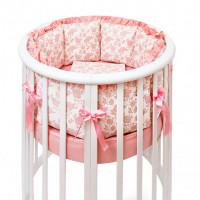 Комплект в кроватку Colibri&Lilly Royal Rose Round (5 предметов)