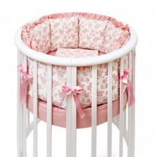 Комплект в кроватку Colibri&Lilly Royal Rose Round (7 предметов)