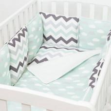 Комплект в кроватку Colibri&Lilly Summer Time (6 предметов)