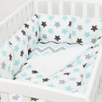 Комплект в кроватку Fluffymoon Blue Sky (6 предметов)
