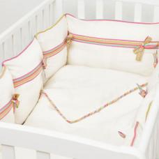 Комплект в кроватку Fluffymoon Ethnic (6 предметов)