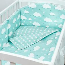 Комплект в кроватку Fluffymoon Fresh Breeze (6 предметов)
