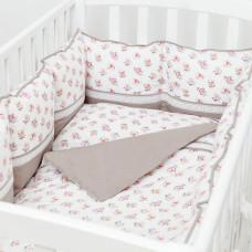 Комплект в кроватку Fluffymoon Nostalgie (4 предмета)