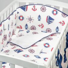 Комплект в кроватку Fluffymoon Sea Journey №3 (6 предметов)