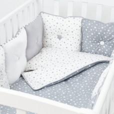 Комплект в кроватку Fluffymoon Star Mix (4 предмета)