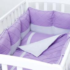 Комплект в кроватку Fluffymoon Viola (4 предмета)