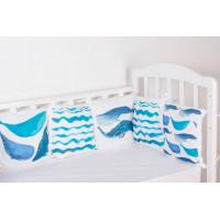 Комплект в кроватку Forest Cute Whale (13 предметов)