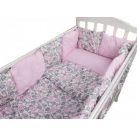 Комплект в кроватку Forest для овальной кроватки Candy (18 предметов)
