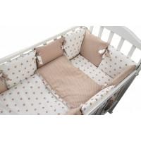 Комплект в кроватку Forest для овальной кроватки Dream (16 предметов)