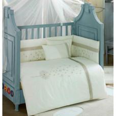 Комплект в кроватку Kidboo Blossom Linen (4 предмета)