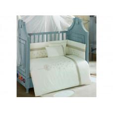 Комплект в кроватку Kidboo Blossom Saten (6 предметов)