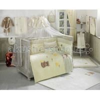 Комплект в кроватку Kidboo Honey Bear Soft (6 предметов)