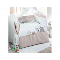 Комплект в кроватку Kidboo Safari (6 предметов)