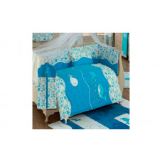 Комплект в кроватку Kidboo Sea Life (4 предмета)
