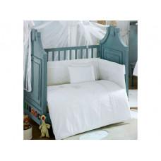 Комплект в кроватку Kidboo Spring Saten (4 предмета)