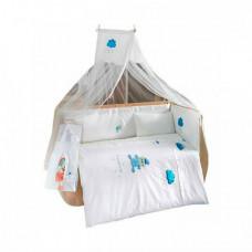 Комплект в кроватку Kidboo Teddy Boo (4 предмета)