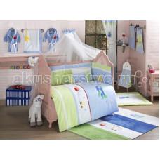 Комплект в кроватку Kidboo Traffic Jam (6 предметов)