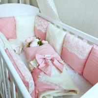 Комплект в кроватку Krisfi Совершенство (15 предметов)