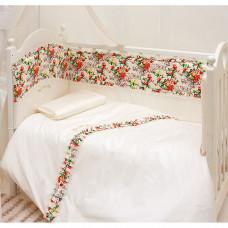 Комплект в кроватку Makkaroni Kids Sweet Baby 120x60 (6 предметов)