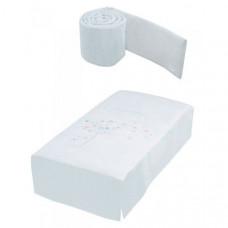 Комплект в кроватку Micuna Aura Бортики и покрывало 120х60 см TX-700