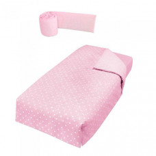 Комплект в кроватку Micuna Покрывало и борт Galaxy