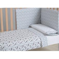 Комплект в кроватку Micuna Покрывало и бортики Indie 140x70