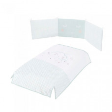 Комплект в кроватку Micuna Покрывало и бортики Lili 120x60