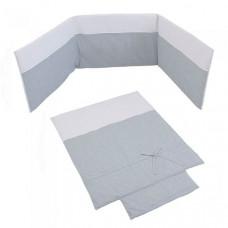 Комплект в кроватку Micuna Покрывало и бортики Nature 120x60