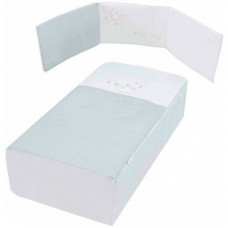 Комплект в кроватку Micuna Valentina Бортики и покрывало 120х60 см