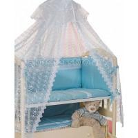 Комплект в кроватку Мой Ангелок 2043 (7 предметов)