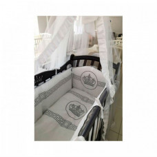 Комплект в кроватку Мой Ангелок Императорский (7 предметов) Б-2051