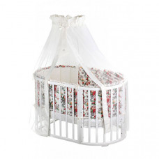 Комплект в кроватку Nuovita Fiori (6 предметов) 125х75 см