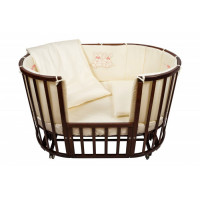 Комплект в кроватку Nuovita Leprotti (6 предметов) 125x75 см с бортом 120x40-2 шт. + 50x40-2 шт.