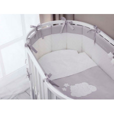 Комплект в кроватку Perina Бамбино Oval (6 предметов)