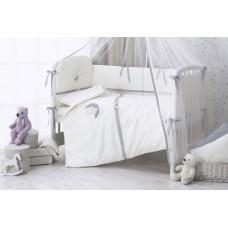 Комплект в кроватку Perina Bonne Nuit из сатина (6 предметов)