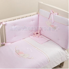Комплект в кроватку Picci Mimmi (3 предмета) аппликация