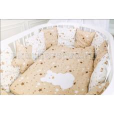 Комплект в кроватку Premiumbaby Молочный звездопад (4 предмета)