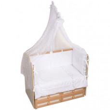 Комплект в кроватку Селена (Сдобина) Нежность (7 предметов)