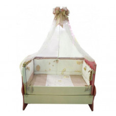 Комплект в кроватку Селена (Сдобина) Птичка (7 предметов)