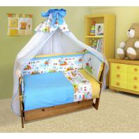 Комплект в кроватку Soni Kids Ослик-хвостик (7 предметов)
