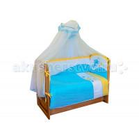 Комплект в кроватку Soni Kids По волнам (7 предметов)
