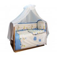 Комплект в кроватку Soni Kids В уютных облачках (7 предметов)