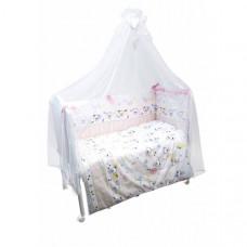 Комплект в кроватку Сонный гномик Конфетти (7 предметов)