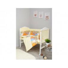 Комплект в кроватку Сонный гномик Лежебоки (7 предметов)