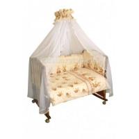 Комплект в кроватку Сонный гномик Пчелки (7 предметов)