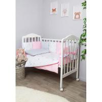 Комплект в кроватку Сонный гномик Стрекоза-Егоза с бортами-подушками (6 предметов)
