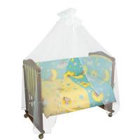 Комплект в кроватку Сонный гномик Сыроежкины сны (7 предметов)