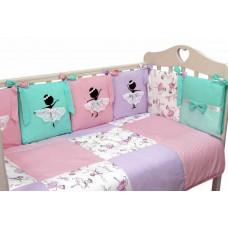 Комплект в кроватку Топотушки Балерина (6 предметов)