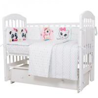 Комплект в кроватку Топотушки Девочки (6 предметов)