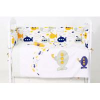 Комплект в кроватку Топотушки Морской бой (6 предметов)